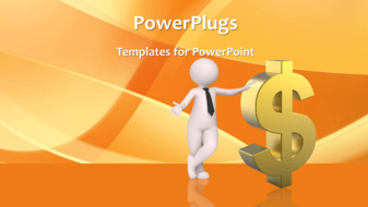 PowerPoint Template - Financial background